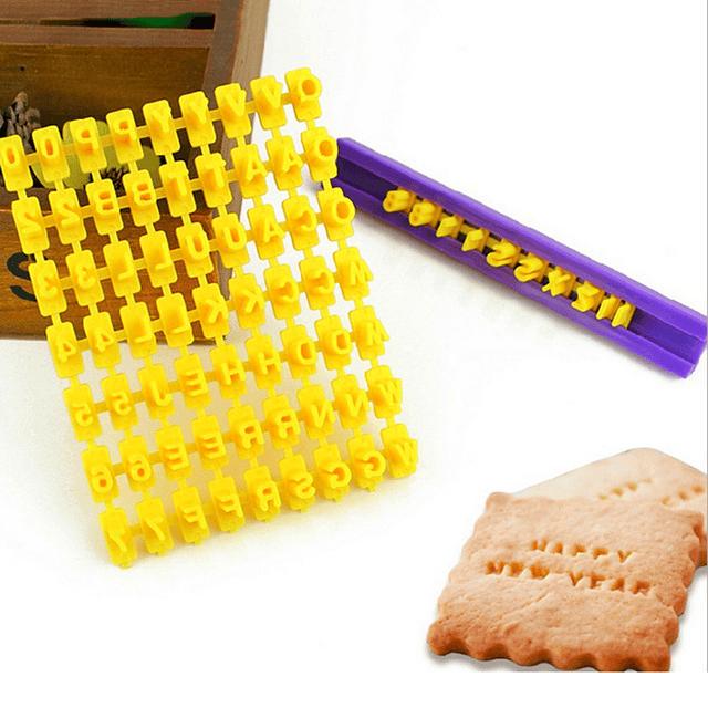 Marcador para Estampar Letras y Números