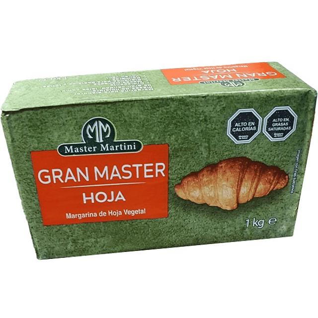 Margarina Hoja Gran Master 1 kg.