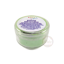 Polvo Nacarado Cake Color 5 gr. Verde