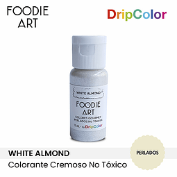 Foodie Art White Almond Drip Color 15 ml.
