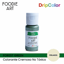 Foodie Art Drip Color 15 ml. Forest Green