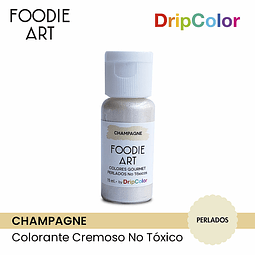 Foodie Art Drip Color 15 ml. Champagne