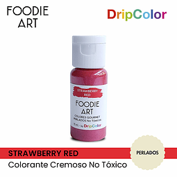 Foodie Art Drip Color 15 ml. Strawberry Red