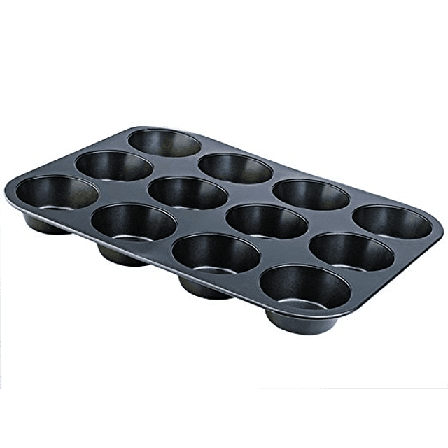 Molde Antiadherente 12 Cupcakes