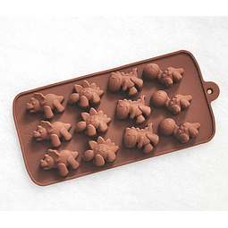Molde Chocolate Dinosaurio Silicona