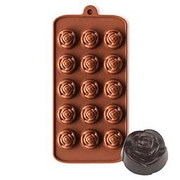 Molde Chocolate Rosas Silicona