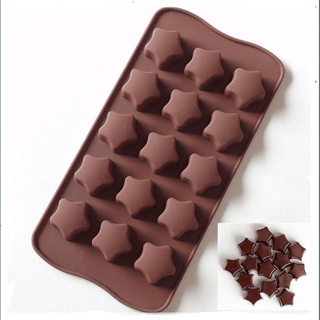 Molde Chocolate Estrella Silcona