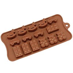 Molde Chocolate Juguetes Silicona