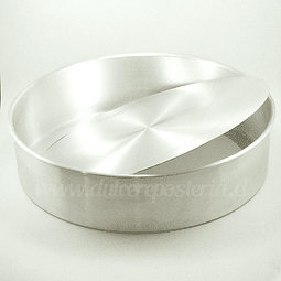 Molde Redondo Desmontable para Bizcocho 32 cm.