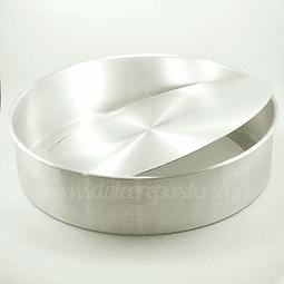 Molde Redondo 32 cm. Desmontable Aluminio