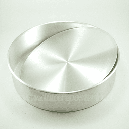 Molde Redondo Desmontable para Bizcocho 28 cm.