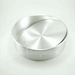 Molde Redondo 24 cm. Desmontable Aluminio