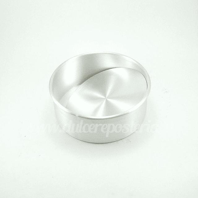 Molde Redondo 16 cm. Desmontable Aluminio
