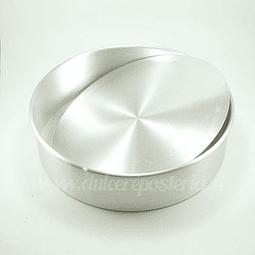 Molde Redondo Desmontable para Bizcocho 26 cm.