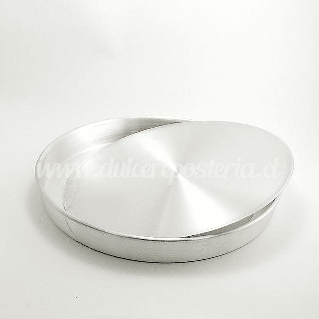 Molde Kuchen 24 cm Aluminio Desmontable