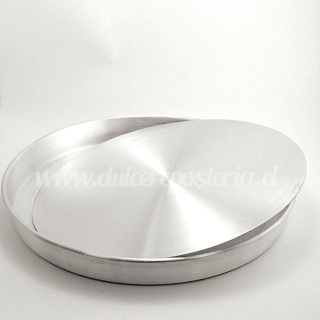 Molde Kuchen 28 cm Aluminio Desmontable