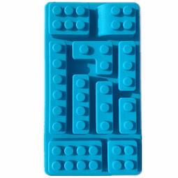 Molde Piezas de Lego Rectangular Silicona