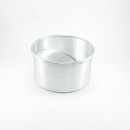 Molde Redondo 14 cm. Desmontable Aluminio