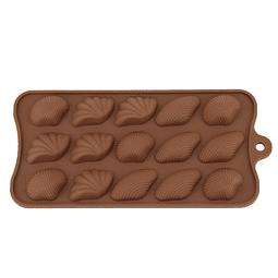 Molde Chocolate Conchas Varias Silicona