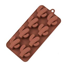 Molde Chocolate Cactus Silicona