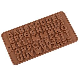 Molde Chocolate Letras Silicona