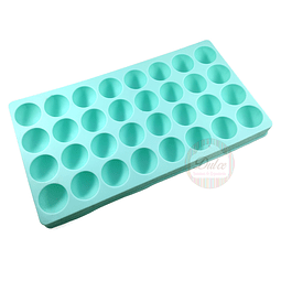 Molde 32 Semi Esferas Silicona