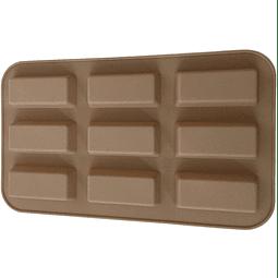 Molde Chocolate Barras 9 Cavidades