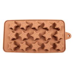 Molde Chocolate Estrella Relieve Silicona