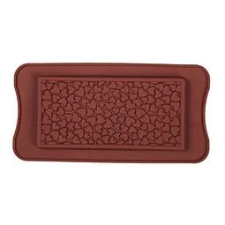 Molde Silicona Tableta Corazones