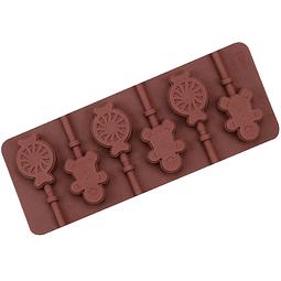 Molde Chocolate Silicona Paleta y Jengibre