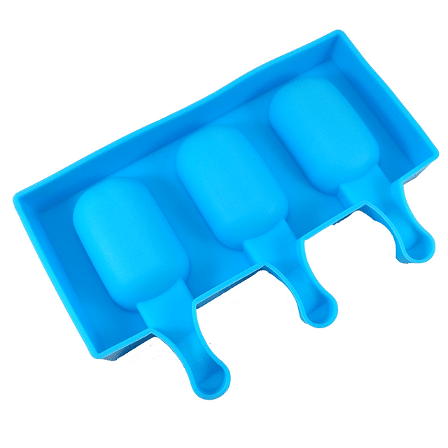 Molde Helado Cakesicles Mini Borde Rizado Silicona