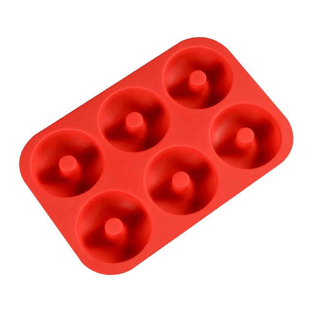 Molde para 6 Donuts Silicona