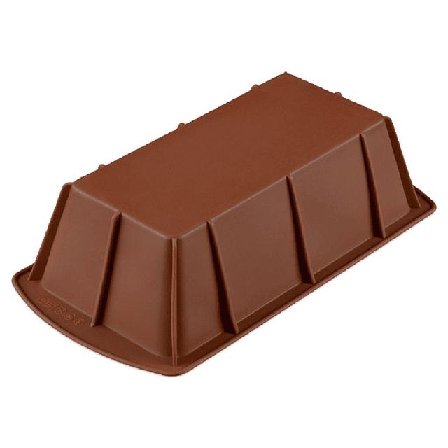 Molde Silicona Queque/Pan Base Lisa