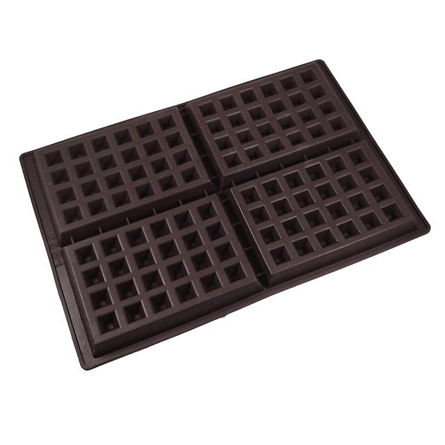 Molde Waffles Silicona 4 Cavidades
