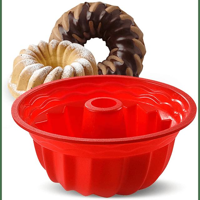 Molde Silicona Queque Espiral 22 cm Silicona