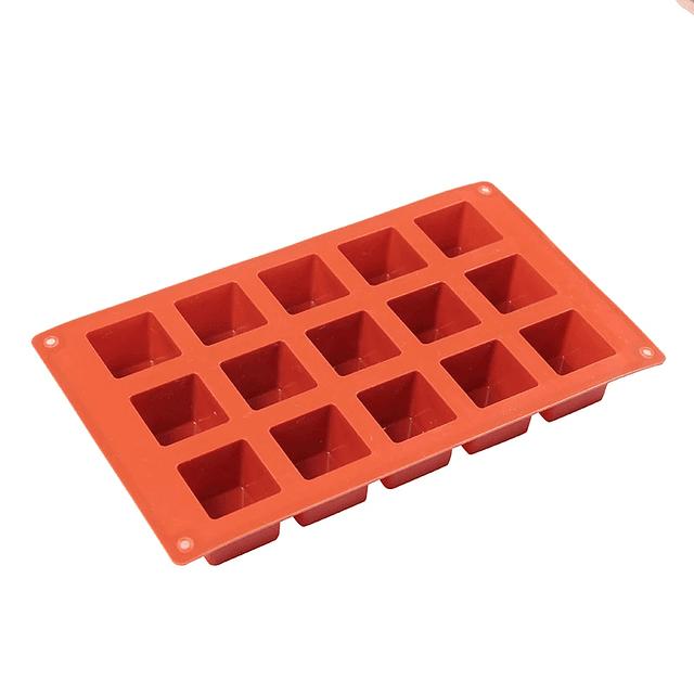 Molde Silicona Cubos 15 Cavidades