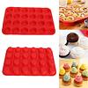 Molde 24 Minicupcakes Silicona