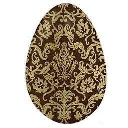 Papel para Chocolate Adamascado Dorado
