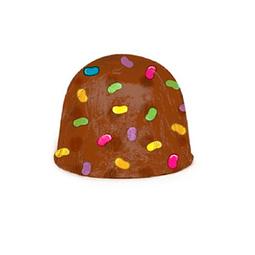 Papel Para Chocolate Confeti Café