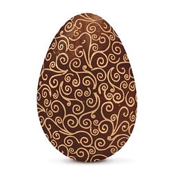 Papel para Chocolate Arabesco Marrón