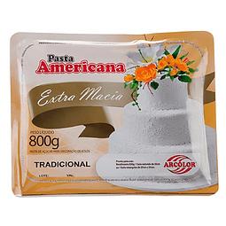 Pasta Americana Arcolor Blanca 800 gr.