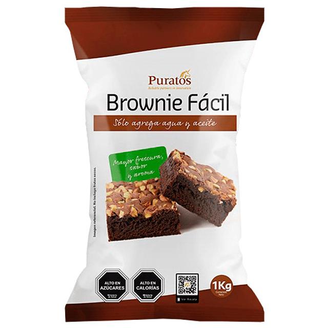 Premezcla Puratos Brownie Facil 1 kg.