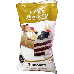 Premezcla Bizcocho Chocolate Puratos 1 kg.