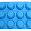 Molde Silicona 12 Cupcakes