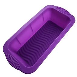 Molde Silicona Queque/Pan Base Corrugada
