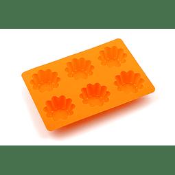 Molde Silicona Tarta Canasto 6 Cavidades