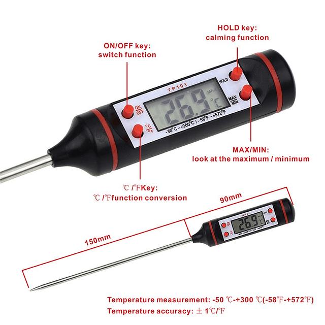 Termómetro Digital para Cocina