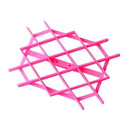 Texturizador Enrejado Rombos Plastico
