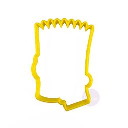 Cortador Plástico Bart - Los Simpsons