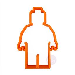 Cortador Plástico Hombre Lego
